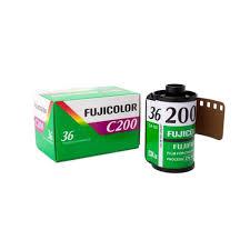 Fujicolor C200 หนึ่งในฟิล์ม